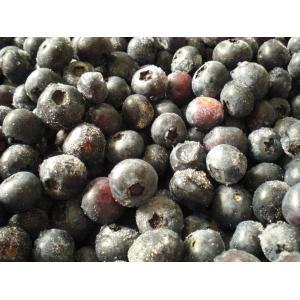 国産 無選別 冷凍ブルーベリー 1kg   ふくしまプライド。体感キャンペーン(果物/野菜)|egao-fukushima