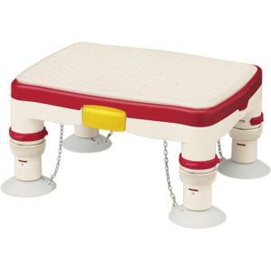 アロン化成 安寿 高さ調節付浴槽台R 標準/レッド