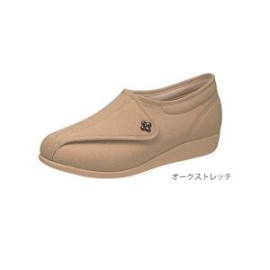 快歩主義L011(足囲3E)/オークストレッチ 23.0cm(アサヒシューズ)|egao-ichiba
