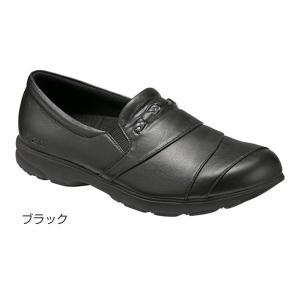 ライフウォーカー400(足囲3E相当)/ブラック 23.5cm(アシックス)|egao-ichiba