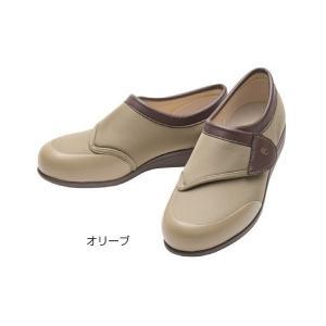 快歩主義L049(足囲3E)/オリーブ 24.0cm(アサヒシューズ)|egao-ichiba