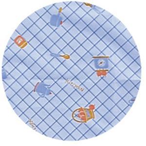 宇都宮製作 生き活きお食事用エプロン袖付 ブルー egao-ichiba