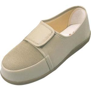 マリアンヌ製靴 リハビリシューズGM603 紳士用【足囲3E】 28cm/ベージュ|egao-ichiba
