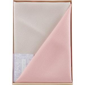 二巾 紬織両面染ふろしき ピンク*|egao-ichiba