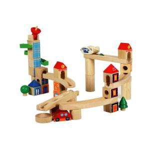 「シティブロック」ビー玉 積み木 ピタゴラスイッチ おもちゃ 装置