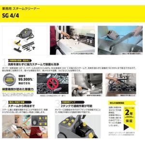 ケルヒャー業務用 SG4/4 スチームクリーナー  (1.092-742.0)|egaonmo|02