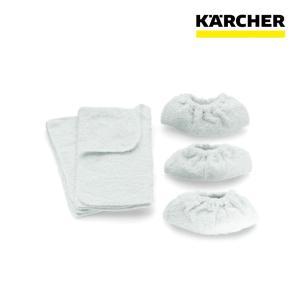 ケルヒャー スチームクリーナー用 クロスセット (6.960-019)|egaonmo