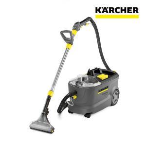 ケルヒャー業務用  PUZZI10/1 カーペットリンスクリーナー 洗剤RM760TAB付 (1.100-135.0 + 6.295-850.0)|egaonmo