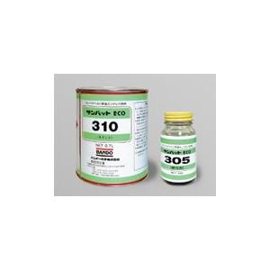バンドー化学 サンパットECO 主剤0.7kg+硬化剤52gセット|egaos