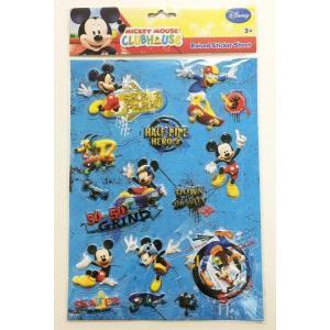 MICKEY MAUSE ミッキーマウス 3Dシール 立体シール 12時までのご注文で当日発送OK!(当店休業日除く)|egaoshop