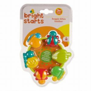 ブライトスターツ バギーバイツ・ティーザー 歯固め ビーズ型歯固め ベビー 赤ちゃん 出産祝い 歯がため ベビーギフト|egaoshop