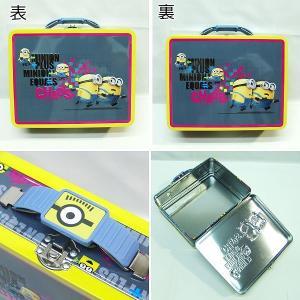 ミニオンズ MINIONS 缶ケース 小物入れ|egaoshop|02