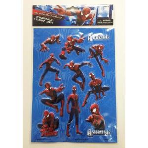 SPIDER MAN スパイダーマン 3Dシール 立体シール 12時までのご注文で当日発送OK!(当店休業日除く) egaoshop