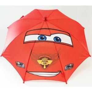 傘 キッズ 男の子 カーズ ディズニー フィギュアハンドル 赤 子供用傘 キャラクター フィギュア インポート egaoshop
