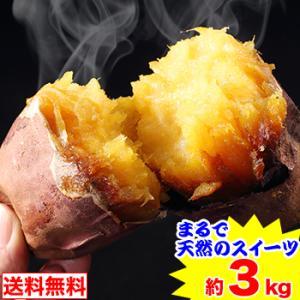 まるで天然のスイーツ 鹿児島県産サツマイモ「蜜芋」約3kg|egaotakumi