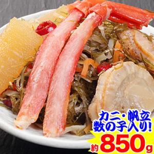 北海道海の幸 ゴロゴロ具だくさん松前漬 約750g|egaotakumi