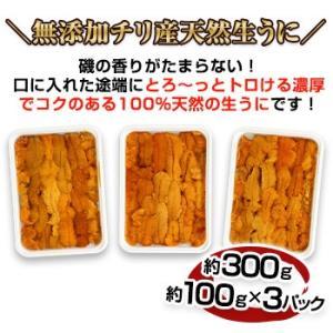 【刺身用】無添加天然生うに「大洋の雫」 約300g|egaotakumi|05