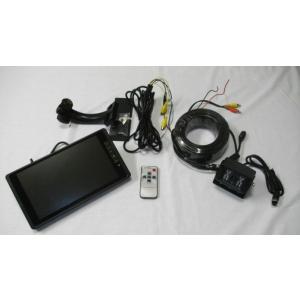 バックカメラと9インチモニターのセット4T+090A  24V〜12V対応|egawa
