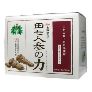 田七人参の力 1.5g×150袋|egawa