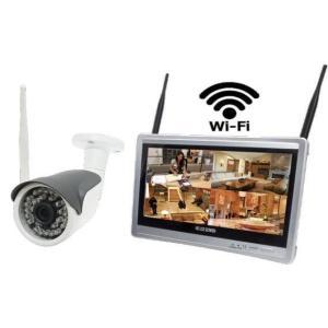 12.5インチモニター付き220万画素・Wi-Fi IPカメラセット WTW-NV254L+PR27WHEセット|egawa