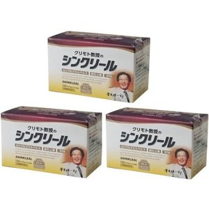 シンクリール×3箱セット  ルンブルクスルべルス 食品 栗本教授開発製品 Lumbricus rubellus|egawa