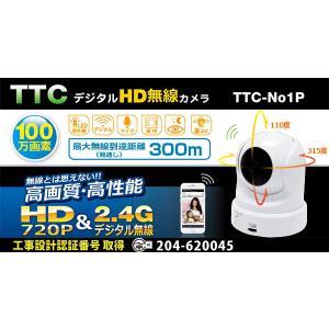 TTC-NO1シリーズ追加用ワイヤレス防犯カメラTTC-NO1P|egawa