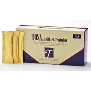 糖鎖(とうさ)生ゼリータイプ5g×48包入り TOSA  plus  GABA+L-Tryptophan|egawa