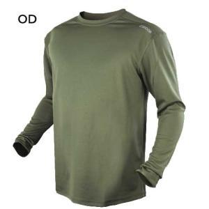 在庫販売 NEW CONDOR タクティカルギア マックスフォート 長袖 Tシャツ 通気性良好・防臭 101121|egears