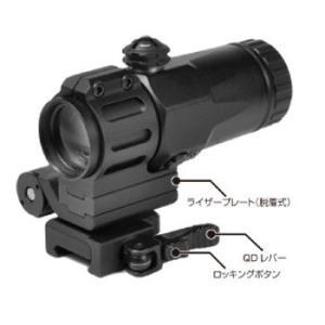 在庫販売 ノーベルアームズ 3X TACTICAL Magnifier タクティカルマグニファイヤー|egears