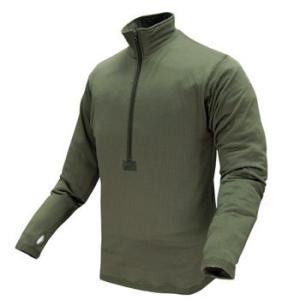 在庫販売 CONDOR コンドル タクティカルギア 603 BASEII ZIPプルオーバーシャツ/ミリタリーシャツ|egears