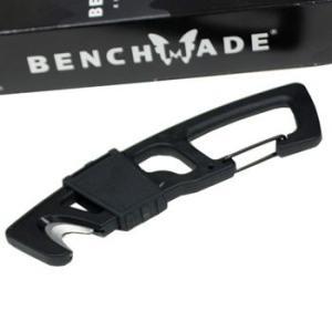 在庫販売 BENCHMADE ベンチメイド ストラップカッター カラビナ付レスキューフック シートベルト切|egears
