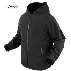 冬物セール 特価 CONDOR タクティカルギア Prime ソフトシェルミリタリージャケット 防水仕様 フード付 101095|egears