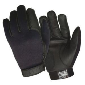 在庫販売 アメリカ HWI社 タクティカルギア ラインド・ネオプレーン Dutyグローブ 耐寒、通気、防水性あり ND100L ブラック|egears