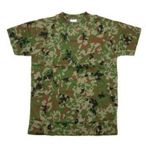 在庫販売 JME 陸自新迷彩 半袖Tシャツ 綿|egears