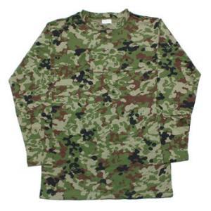 在庫販売 JME ヒートパワーTシャツ 長袖 (蓄熱 保温 吸汗 速乾) 陸自新迷彩とODあり|egears