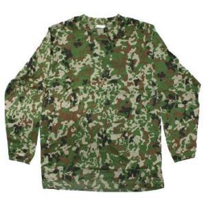 在庫販売 JME 陸自新迷彩 長袖Tシャツ 綿|egears