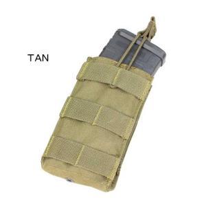 在庫販売 CONDOR コンドル タクティカルギア MA18 シングル M4/M16 オープンマグポーチ|egears