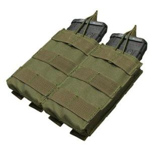 在庫販売 CONDOR コンドル タクティカルギア MA19 ダブル M4/M16 オープンマグポーチ egears