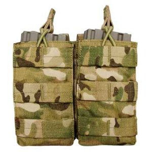 在庫販売 CONDOR コンドル タクティカルギア MA19 ダブル M4/M16 オープンマグポーチ マルチカモ|egears