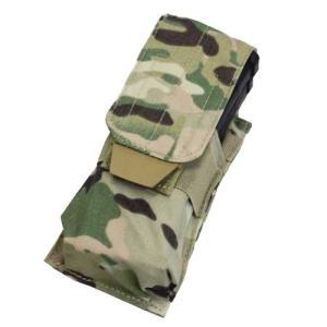 在庫販売 CONDOR コンドル タクティカルギア MA5 シングル M4/M16 マグポーチ マルチカモ|egears