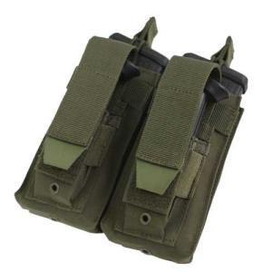 在庫販売 CONDOR コンドル タクティカルギア MA51 ダブルカンガルー M4/M16 マグポーチ|egears