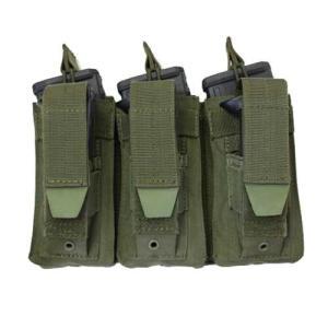 在庫販売 CONDOR コンドル タクティカルギア MA55 トリプルカンガルー M4/M16 マグポーチ|egears