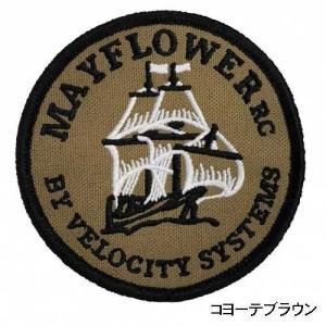 在庫販売 実物  VelocitySystems ベロシティシステムズ  Mayflower RC By Velocity Systems Patch メイフラワーパッチ MF-PATCH|egears