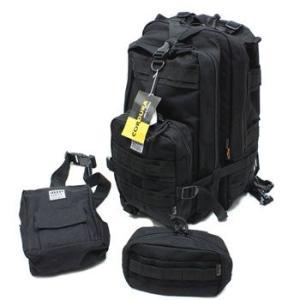 在庫販売 MIL−FORCE ミルフォース BD-18 ポリス・レスキュー バッグパックセット|egears