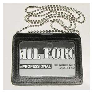 在庫販売 MIL−FORCE(ミルフォース) ID-7 チェーン付IDケース|egears