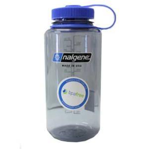在庫販売 nalgene ナルゲン 広口1リットル Tritan グレー カラーボトル+ HDボトルケース+ イージーシッパー(飲み口)|egears