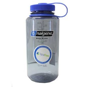 nalgene(ナルゲン) 広口1リットル Tritan グレー カラーボトル+ CONDORコンドル MA40ボトルケース+ イージーシッパー(飲み口)|egears
