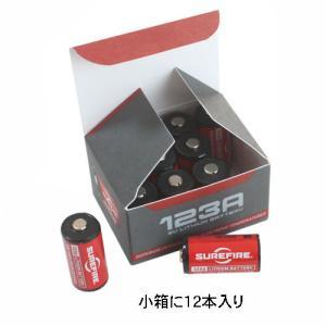 在庫販売 日本正規品 SUREFIRE シュアファイヤー シュアファイア SF123A リチウム電池 12本入バルク品 小箱に裸12本入|egears