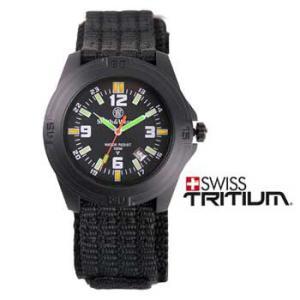 在庫販売 Smith&Wesson スミス&ウェッソン ソルジャーウォッチ 腕時計 トリチウム発光 ナイロンストラップ SWW-12T-N|egears