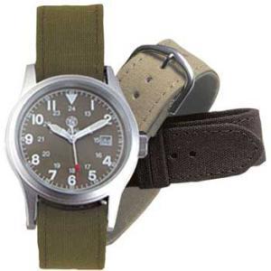 在庫販売 Smith&Wesson Military ミリタリーODフェイスウォッチ 腕時計 SWW-1464OD 3チェンジャーブルストラップ|egears